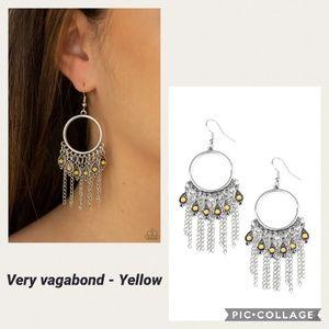 Very Vagabond Yellow Earring